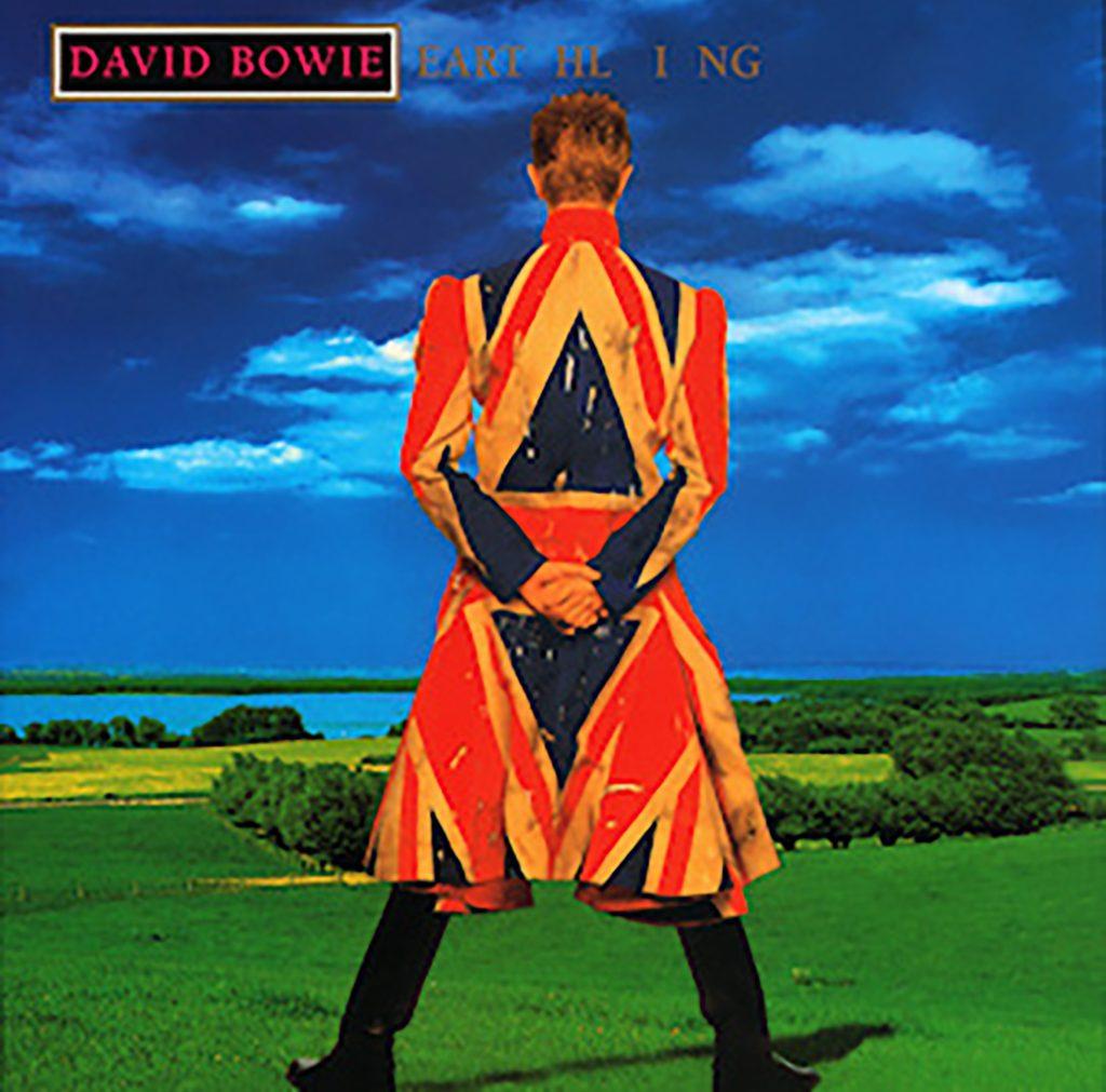 David Bowie Earthing album custom by Alexander Mqueen